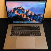Apple MacBook Pro 15.4 Retina Intel ® Quad Core ™ i7 2,8 GHz, Haswell ™ 16 GB-ram, 512 GB SSD OS X Yosemite Silver Touch Bar