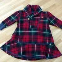 Ralph Lauren Baby Winter dress, Size 9M
