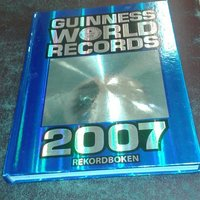 guinness worlds record 2007