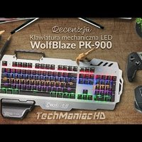 PK-900 Professional Gaming LED Keyboard