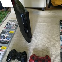 PS3 slim 160GB in excellent condition + 9spel