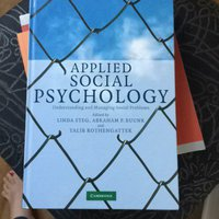 Applied social psychology 2008