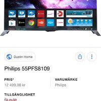 Philips smart 3d tv 55""