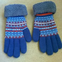 Knitted series gloves Stl.M