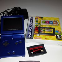 Game boy advances SP med 3 spel