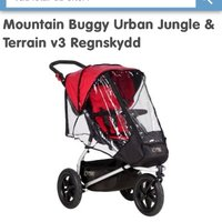 Mountain Buggy Urban Jungle & Terrain v3 Regnskydd