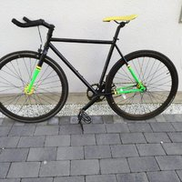 Fixie/Single Speed Herrcykel 52 cm