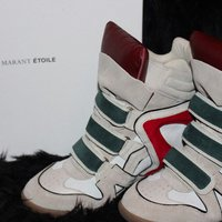 Isabel marant wedge sneakers