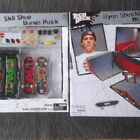 Tech deck fingerskateboard & ramper