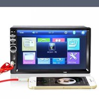 Helt Ny 2DIN Car Bluetooth Audio 7 Inch Touch LCD HD Radio Stereo bil MP5 Player USB