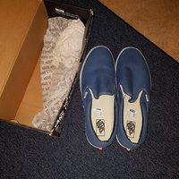 Nya Vans Classic Slip-On (Navy)