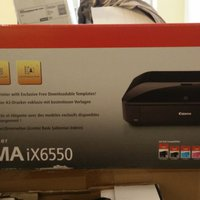 Canon skrivare iX6550 with ink cartridges