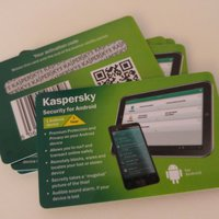 "Kaspersky Security för Android ""Card Edition"" 1 enhet/1 år"