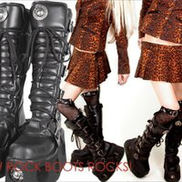 New Rock boots  36
