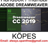 Adobe Dreamweaver CC 2019 handbok / manual KÖPES