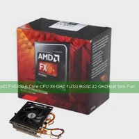 NY AMD FX-Series FX-6350 6-CORE Black Edition 3,9GHz Socket AM3+ Box +Oriiginalkylare / Fläkt