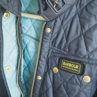Barbour international quilt
