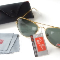 Aviator RB3025 Large - grönt glas Ray-Ban