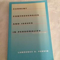 Current Controversies and Issues in personality  (Third Edition )