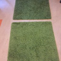 Carpet green ikea