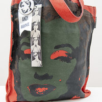 Andy Warhol bag - Canvas Tote with Marilyn Monroe print