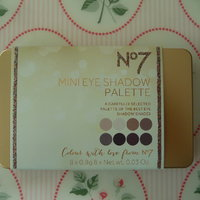 No 7 mini eye shadow palette oanvänd