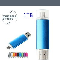 OBS 1000GB  (1TB )Metal USB Flash Drive USB 2.0 Key