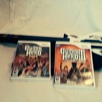 Guitar hero III LEGEND OF ROCK, Guitar hero Aerosmith och gitarr