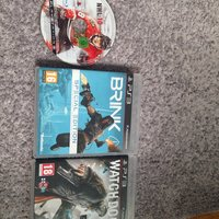Ps3 spel brink NHL 10 och watch dogs