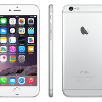 iPhone 6 128gb silver/white