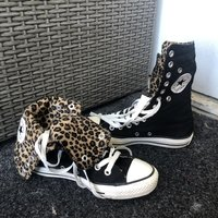 Limited ed. Leopard Converse Chuck Taylor All Star High Tops