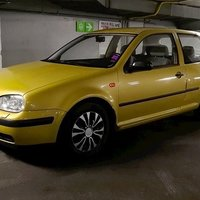 VW Golf 1,6 Besiktigad -99