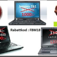 Rea Spara 300:- DELL lenovo Dual core Laptop