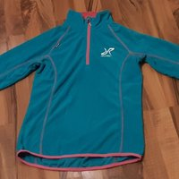 REVOLUTION RACE. Trekker Fleece Dam Turkis/Pink.XS.NYSKICK.