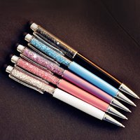 Crystal pen with mobile touch