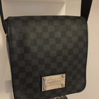 Louis Vuitton Damier Graphite.