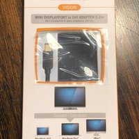 iWires Mini DisplayPort to DVI adapter 0.2m