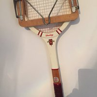 Klassiska tennis racket
