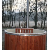 Badtunna Badezuber Hot Tub Glasfiber
