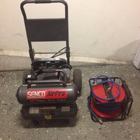Senco air Pro Kompressor PC2225EU 230V, 2.5HP, 16L, 268L/min + SLANGVINDA !!!