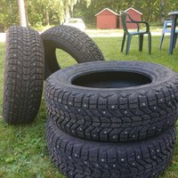 Firestone Winterforce 175/65R14 82S nyskick!
