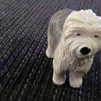 English sheepdog figur