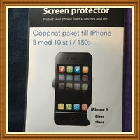 Screen protector till iphone 5