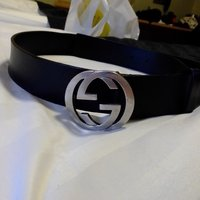 Gucci lether belt