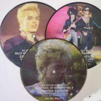Billy Idol, Interview, MINT CONDITION Rare set of THREE picture discs