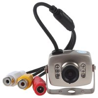 Mini Video Color CCTV SPY Security Surveillance Camera + DDC cameror + Network cameror