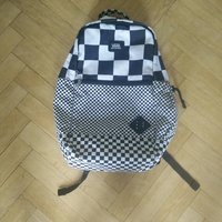 Vans Backpack svart/vit