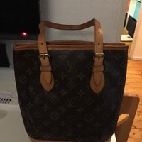 Louis Vuitton petit Bucket PM i Monogram Canvas