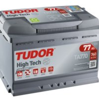 Batteri, 12V, 77 Ah, Tudor Hightech