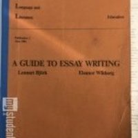 A Guide to Essay Writing